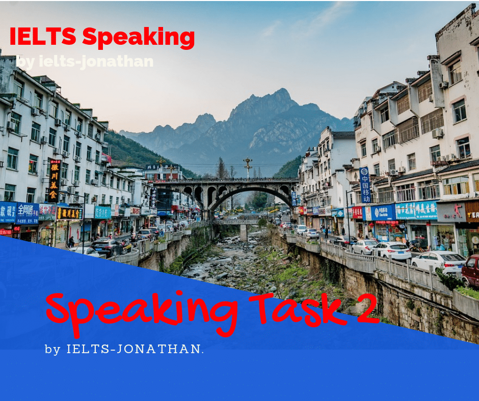 A Beautiful Place - IELTS Speaking Part 2 - The Perfect Long